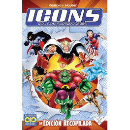 Icons: Rol con superpoderes - Ed. Recopilada juego de rol