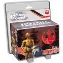 Star Wars Imperial Assault: R2D2 y C3PO juego de mesa