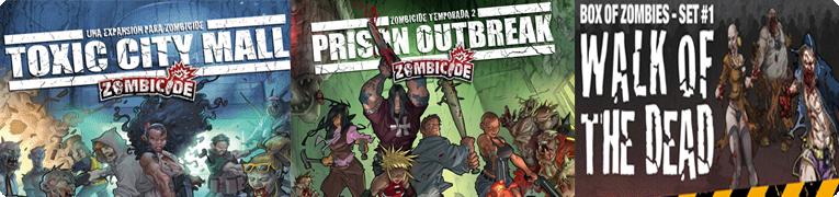NOVEDADES NOVIEMBRE - JUEGOS DE LA MESA REDONDA Banner-zombicide2