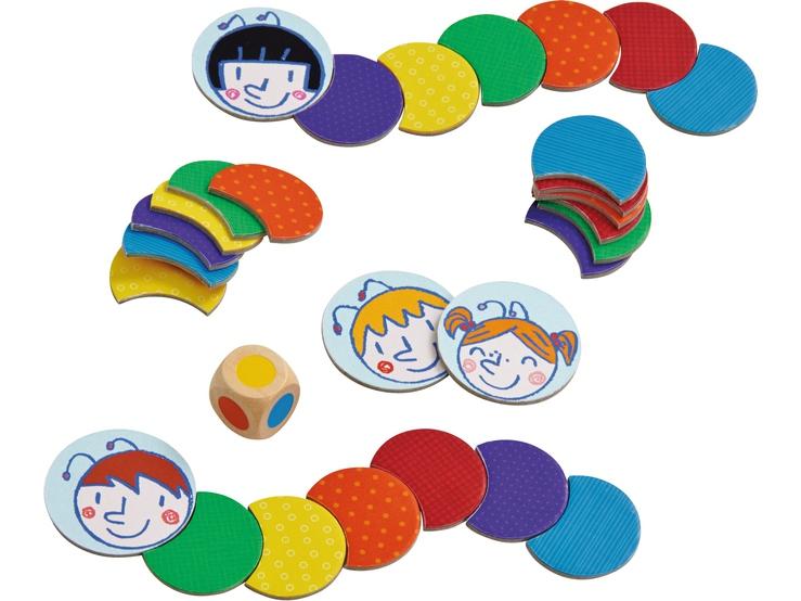oruga de colores - juego de mesa para niños