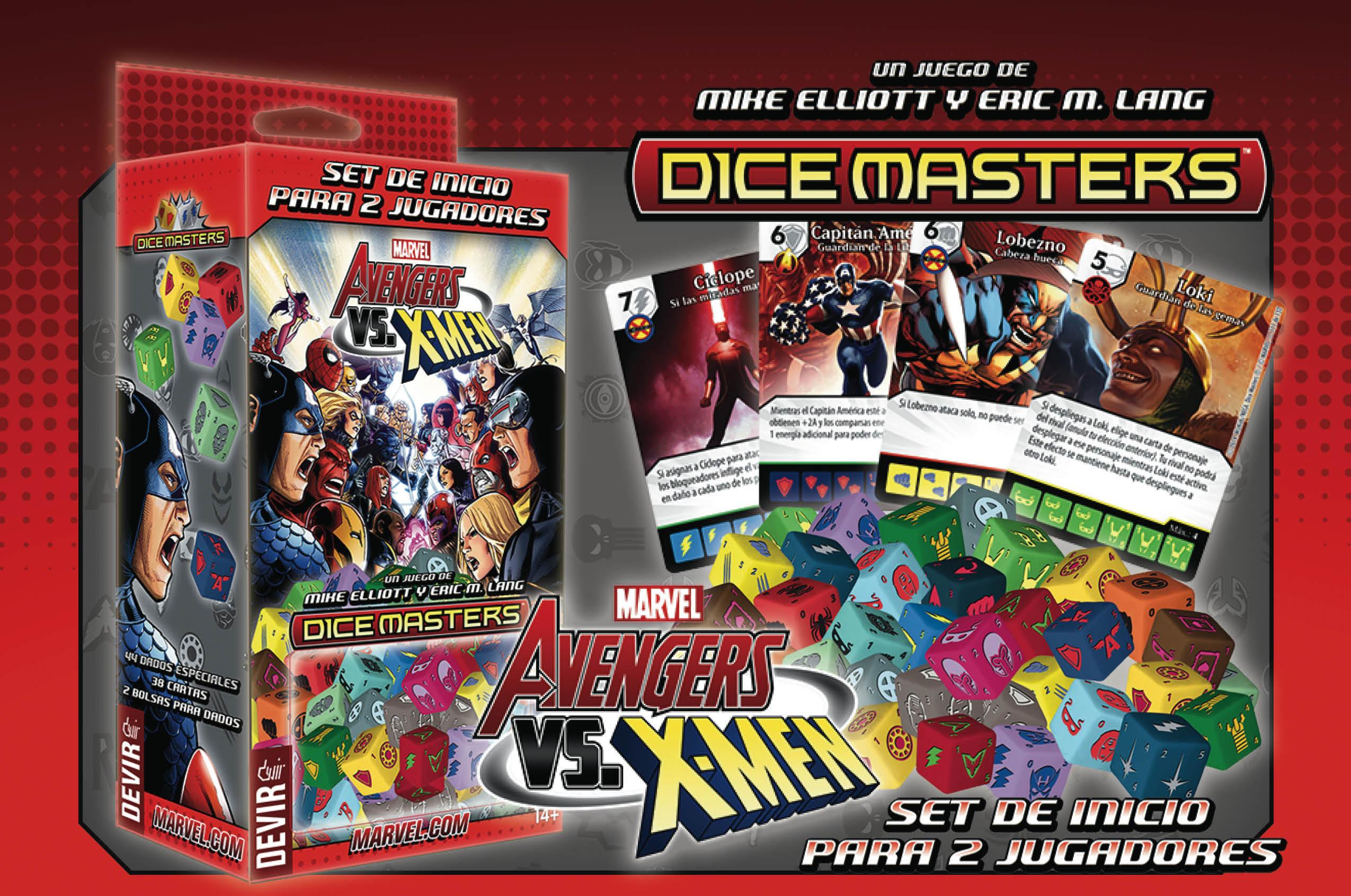 marvel dice master