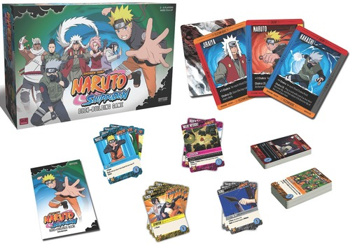 Naruto deck Building game