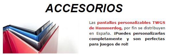 Novedades y preventas julio - JUEGOS DE LA MESA REDONDA Accesorios-julio2015-1