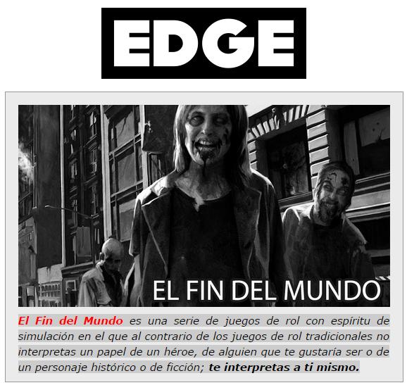 NOVEDADES Y PRE VENTAS SEPTIEMBRE 2014 - JUEGOS DE LA MESA REDONDA Edgerol1-septiembre2014