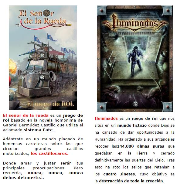 NOVEDADES Y PRE VENTAS SEPTIEMBRE 2014 - JUEGOS DE LA MESA REDONDA Epicismo2-septiembre2014