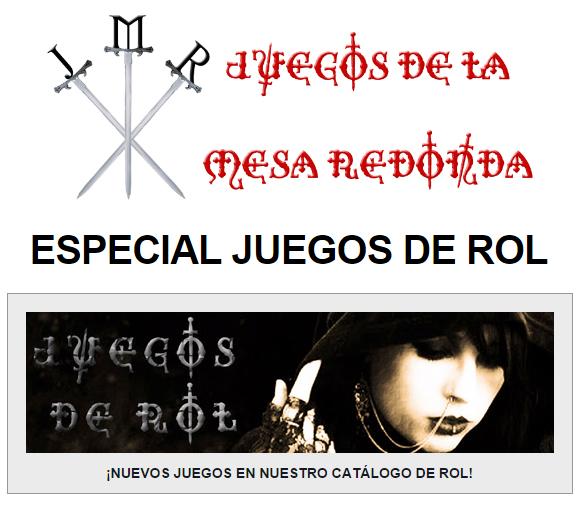 NOVEDADES Y PRE VENTAS SEPTIEMBRE 2014 - JUEGOS DE LA MESA REDONDA Especialrol-septiembre2014