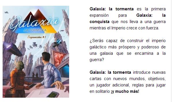 NOVEDADES AGOSTO 2014 - JUEGOS DE LA MESA REDONDA Expansion-galaxia-agosto2014