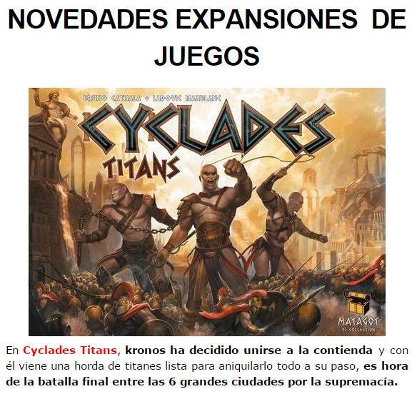NOVEDADES OCTUBRE JUEGOS DE LA MESA REDONDA Expansiones-octubre2014-1
