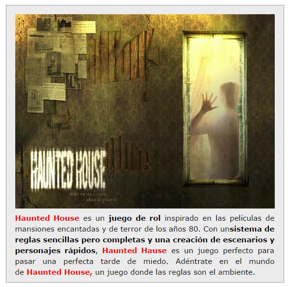 NOVEDADES Y PRE VENTAS SEPTIEMBRE 2014 - JUEGOS DE LA MESA REDONDA Haunted-house-septiembre2014