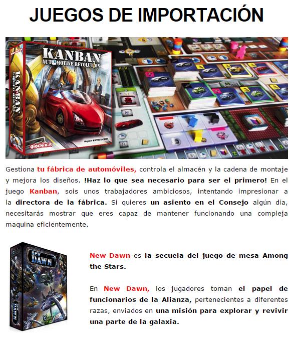 NOVEDADES Y PRE-VENTAS MARZO - JUEGOS DE LA MESA REDONDA Importacion-marzo2015-1