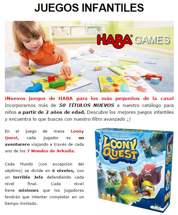 NOVEDADES Y PRE-VENTAS MARZO - JUEGOS DE LA MESA REDONDA Infantil-marzo2015-1