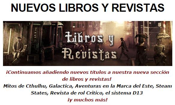 NOVEDADES Y PRE-VENTAS MARZO - JUEGOS DE LA MESA REDONDA Libros-marzo2015-1