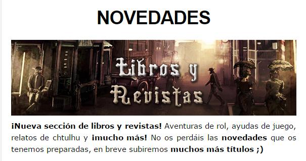 NOVEDADES Y PRE-VENTAS FEBRERO - JUEGOS DE LA MESA REDONDA Librosyrevistas-febrero2015-1