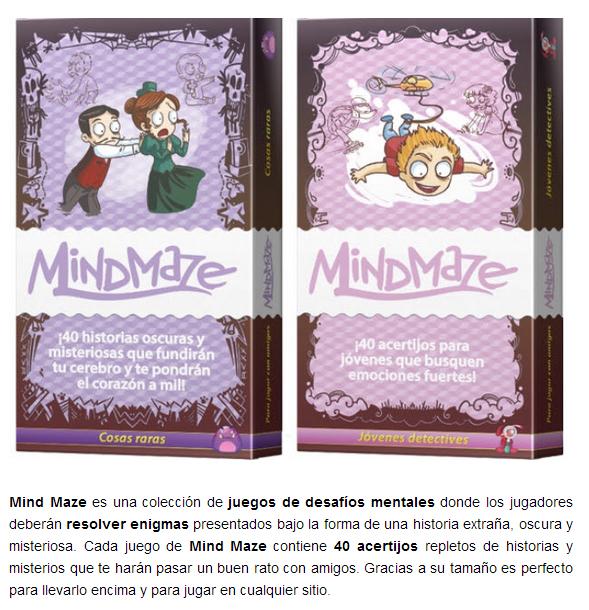 NOVEDADES AGOSTO 2014 - JUEGOS DE LA MESA REDONDA Mind-maze-agosto2014