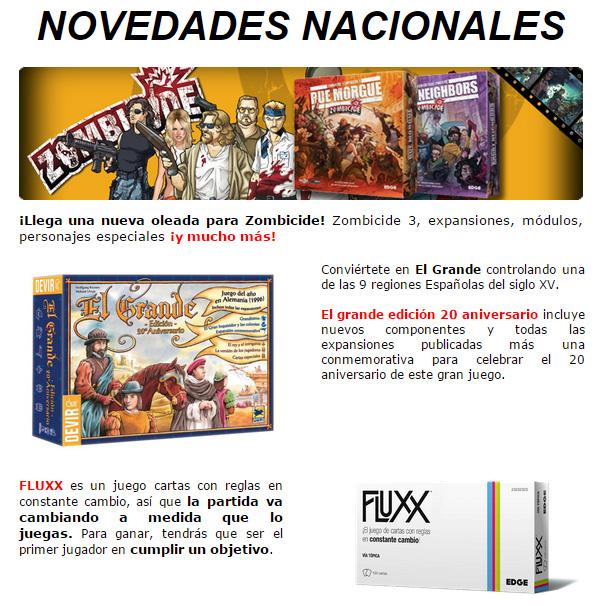 NOVEDADES Y PROMOCIONES MAYO - JUEGOS DE LA MESA REDONDA Nacional-mayo2015-1