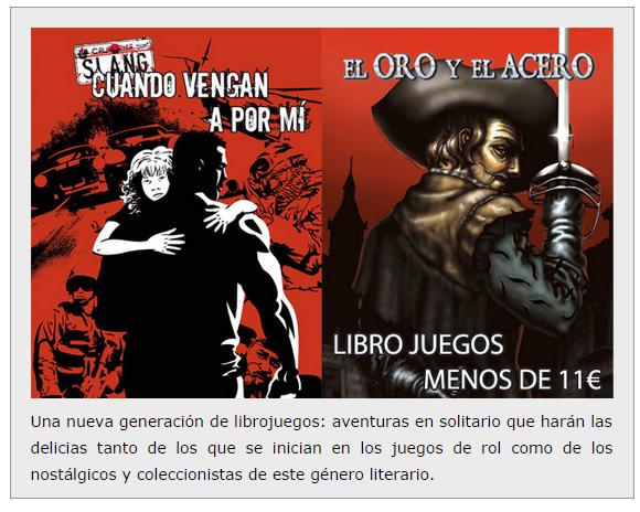 NOVEDADES Y PRE VENTAS SEPTIEMBRE 2014 - JUEGOS DE LA MESA REDONDA Nosolorol3-septiembre2014
