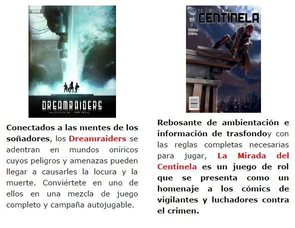 NOVEDADES Y PRE VENTAS SEPTIEMBRE 2014 - JUEGOS DE LA MESA REDONDA Nosolorol8-septiembre2014