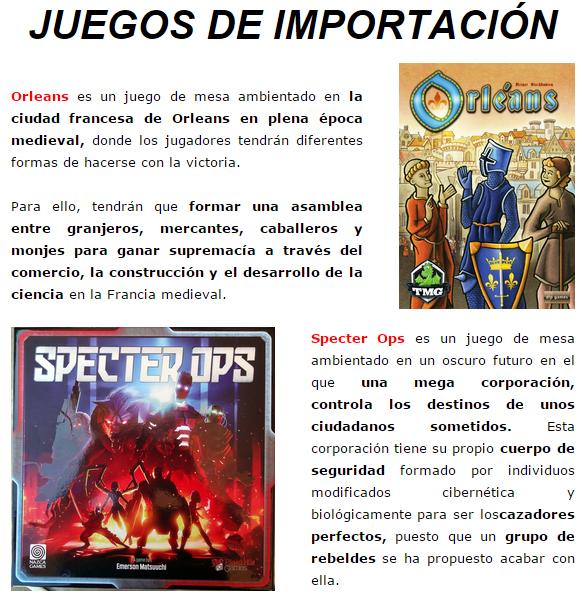 Novedades y preventas julio - JUEGOS DE LA MESA REDONDA Novedad-importacion-julio2015-2-1