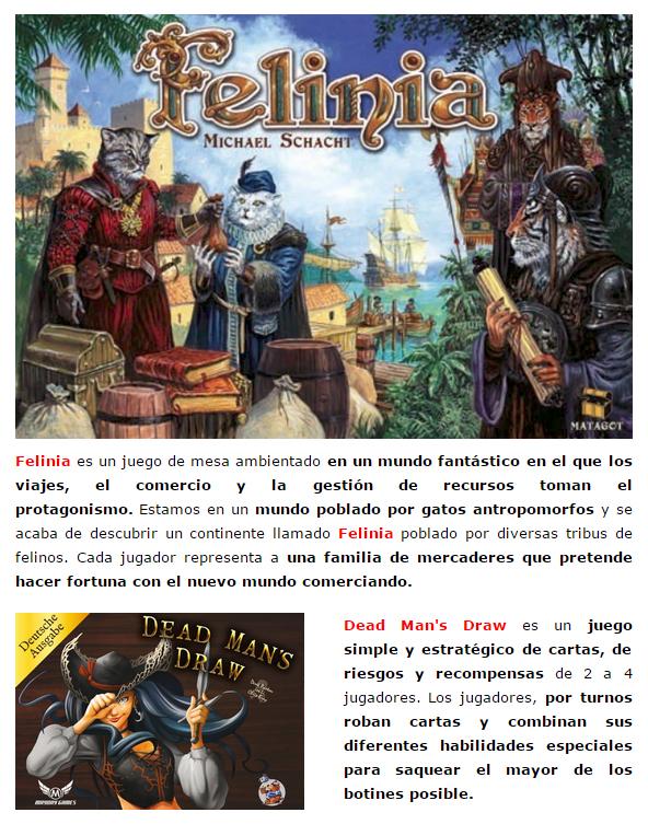 Novedades y preventas julio - JUEGOS DE LA MESA REDONDA Novedad-importacion-julio2015-2-3