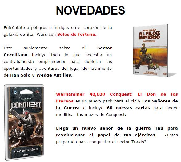 NOVEDADES Y PRE-VENTAS ENERO - JUEGOS DE LA MESA REDONDA Novedades-enero2015-5