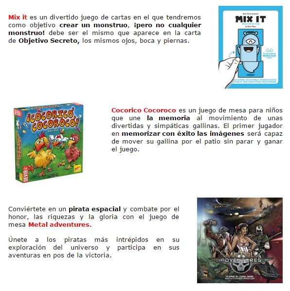 Novedades y preventas julio - JUEGOS DE LA MESA REDONDA Novedades-julio2015-3