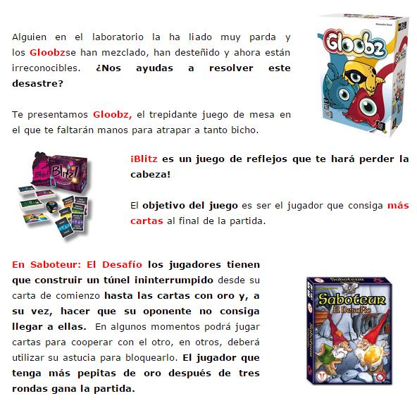 NOVEDADES Y PRE-VENTAS MARZO - JUEGOS DE LA MESA REDONDA Novedades-marzo2015-2