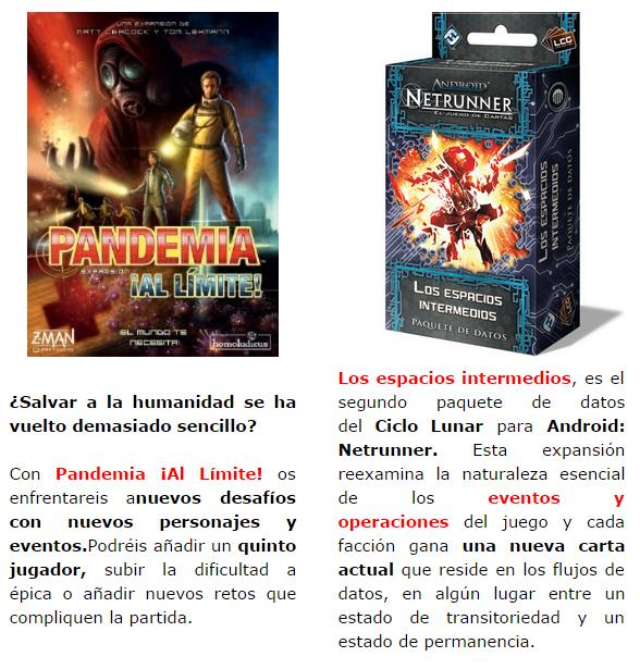 NOVEDADES Y PRE VENTAS SEPTIEMBRE 2014 - JUEGOS DE LA MESA REDONDA Novedades-septiembre-2014-jnacional1