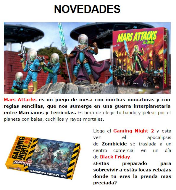 NOVEDADES DICIEMBRE - JUEGOS DE LA MESA REDONDA Novedades1-diciembre14