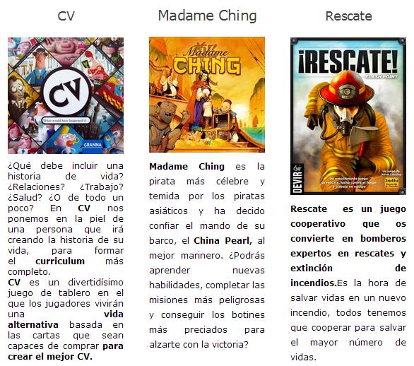 NOVEDADES JULIO 2014 - JUEGOS DE LA MESA REDONDA Novedades1-julio2014