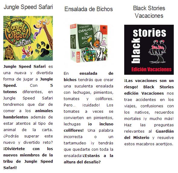 NOVEDADES JULIO 2014 - JUEGOS DE LA MESA REDONDA Novedades2-julio2014