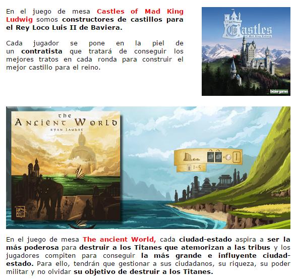NOVEDADES Y PRE-VENTAS ABRIL - JUEGOS DE LA MESA REDONDA Novedadesimportacion-abril2015-3