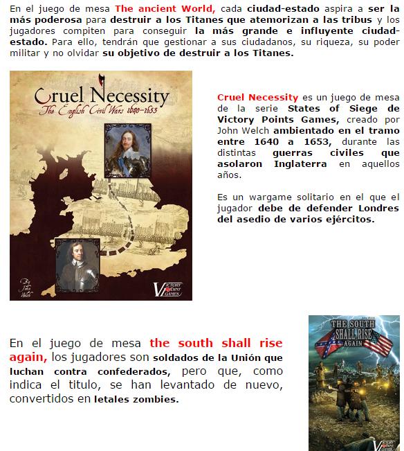 NOVEDADES Y PRE-VENTAS ABRIL - JUEGOS DE LA MESA REDONDA Novedadesimportacion-abril2015-4