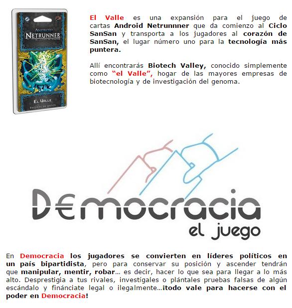 NOVEDADES Y PRE-VENTAS ABRIL - JUEGOS DE LA MESA REDONDA Novedadesmesa-abril2015-2
