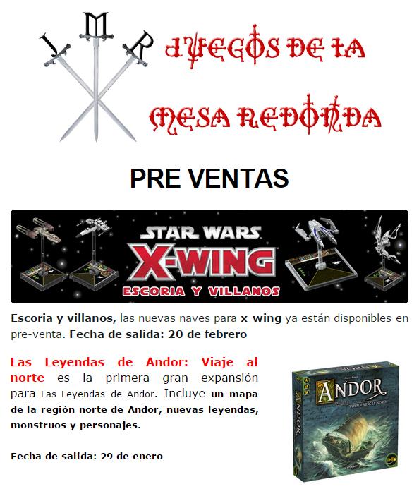 NOVEDADES Y PRE-VENTAS ENERO - JUEGOS DE LA MESA REDONDA Preventas-enero2015-4
