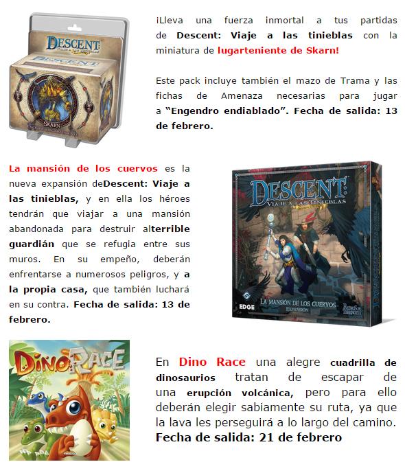 NOVEDADES Y PRE-VENTAS ENERO - JUEGOS DE LA MESA REDONDA Preventas-enero2015-7