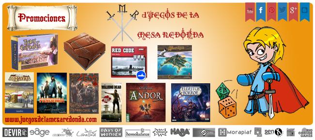 PROMOCIONES JULIO 2014 - JUEGOS DE LA MESA REDONDA Promociones-julio-foros