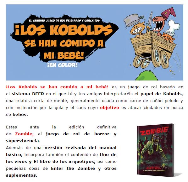 NOVEDADES Y PRE-VENTAS MARZO - JUEGOS DE LA MESA REDONDA Rol-marzo2015-2