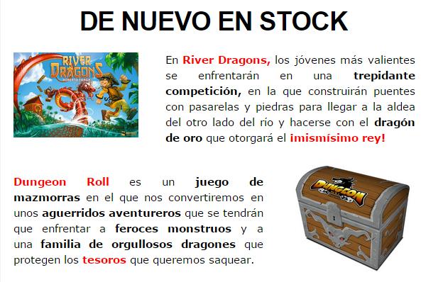 NOVEDADES DICIEMBRE - JUEGOS DE LA MESA REDONDA Stock1-diciembre14