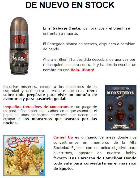 NOVEDADES DICIEMBRE - JUEGOS DE LA MESA REDONDA Stock3-diciembre14