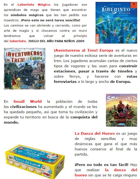 NOVEDADES DICIEMBRE - JUEGOS DE LA MESA REDONDA Stock4-diciembre14