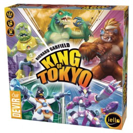 king of tokyo juego de mesa