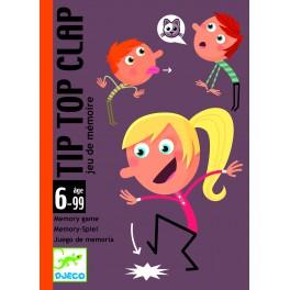 Cartas Tip Top Clap - juego de cartas para niños