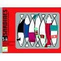 Cartas Sardines - juego de cartas para niños