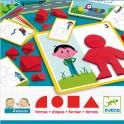 Eduludo Formas - juego de mesa para niños