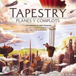 Tapestry: Planes y Complots - expansión juego de mesa