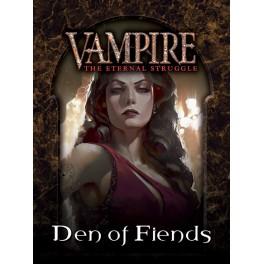 Vampire The Eternal Struggle TCG: Guarida de los Diablos (castellano) - juego de cartas