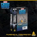 Marvel Crisis Protocol Punisher and Taskmaster - expansión juego de mesa