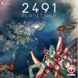 2491 Planetship - juego de mesa