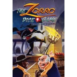 Zorro Dice Game: Heroes and Villains - expansión juego de dados