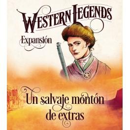 Western Legends: Un salvaje monton de extras - expansión juego de mesa